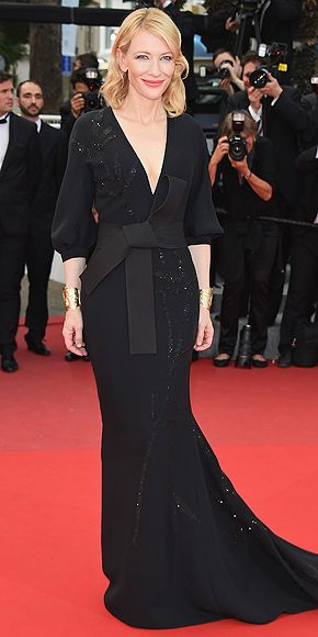 Cate Blanchett in a Armani Prive' gown at the 2015 Cannes Film Festival
