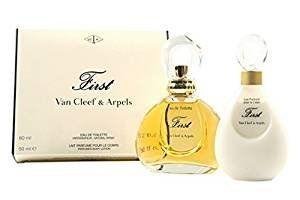 Coffret / Gift Set Van Cleef First & Arpels Eau de toilette 60ml & Lait corps -Body Lotion 50ml: Van Cleef First Edt 60ml & B/Lotion50ml