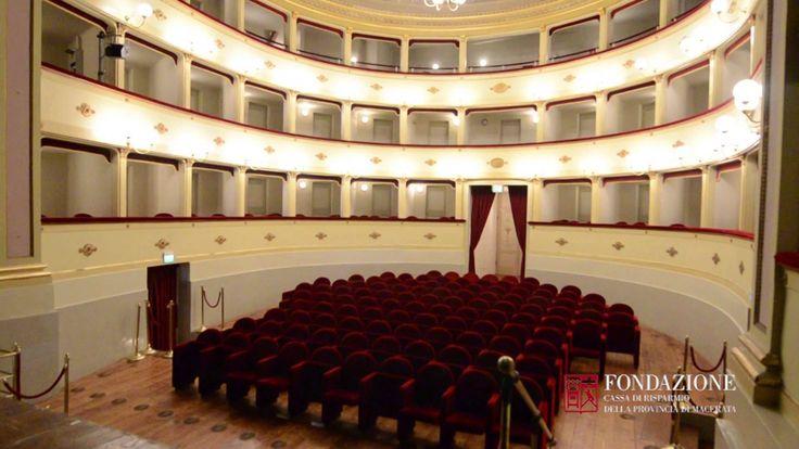 Il #Teatro #AnnibalCaro è il teatro storico dei #teatridicivitanova e si trova nella parte alta di #civitanovamarche www.tdic.it