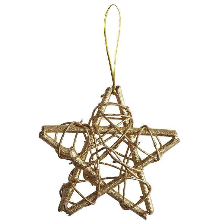 Rattan Star Ornament only $1.00 at Pier 1