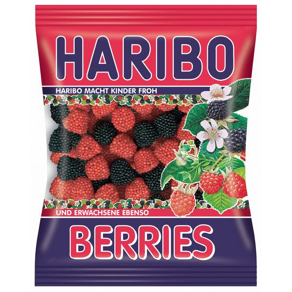 Haribo Berries Gummi Candy 200 g featuring polyvore food food and drink comida food & drinks fillers