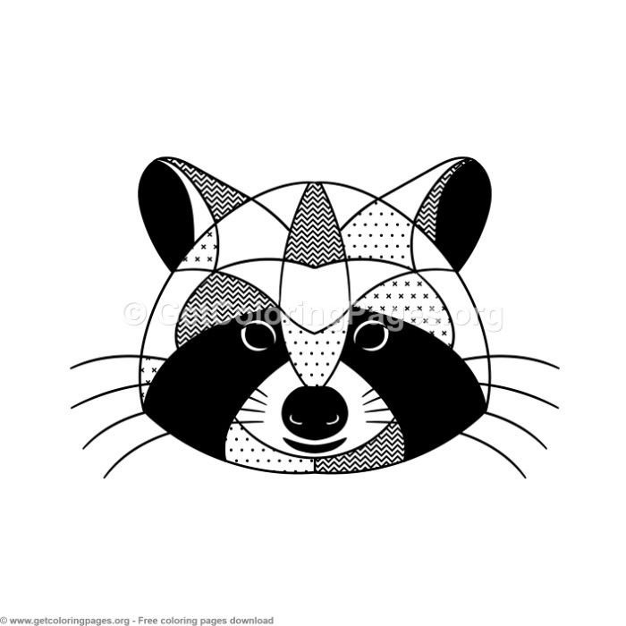 Scandinavian Style Raccoon Coloring Pages Free Instant Download Coloring Coloringbook Coloringpages Animal Coloring Pages Coloring Pages Kids Coloring Books