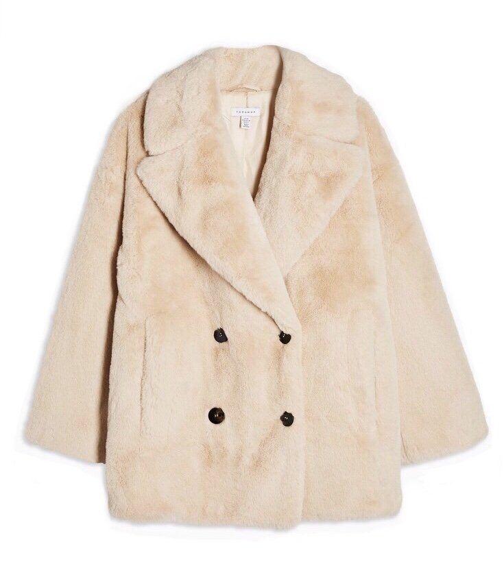The Faux Fur Coat Edit   Fur coat, Cream fur coat, Cream