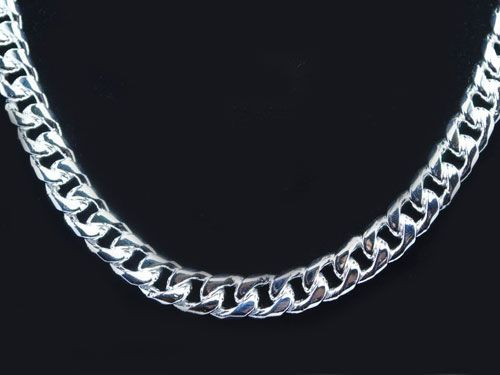 Sterling silver chain for men