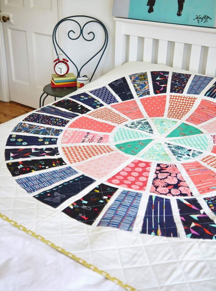 Bullseye Quilt by Lynne Goldsworthy for Love Patchwork & Quilting magazine issue 11