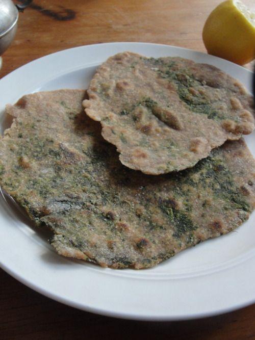 Chipatis de espinaca veganos
