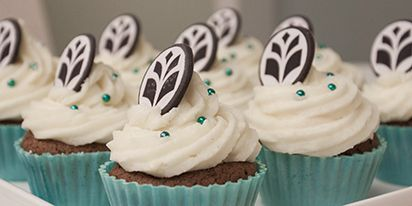 University of Eastern Finland cupcakes.