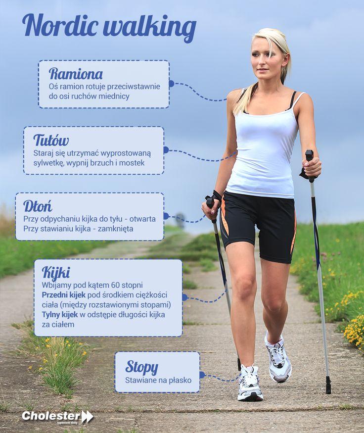 Aby zadbać o kondycję i utratę kilogramów warto zapoznać się z nordic walking :) #cholester #sport #nordicwalking