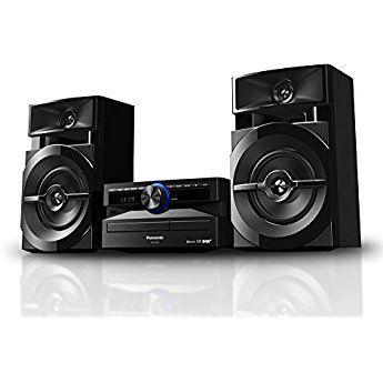 Panasonic SC-UX100 CD & USB Wireless Bluetooth 300W Mini Hi-Fi System Shelf Stereo