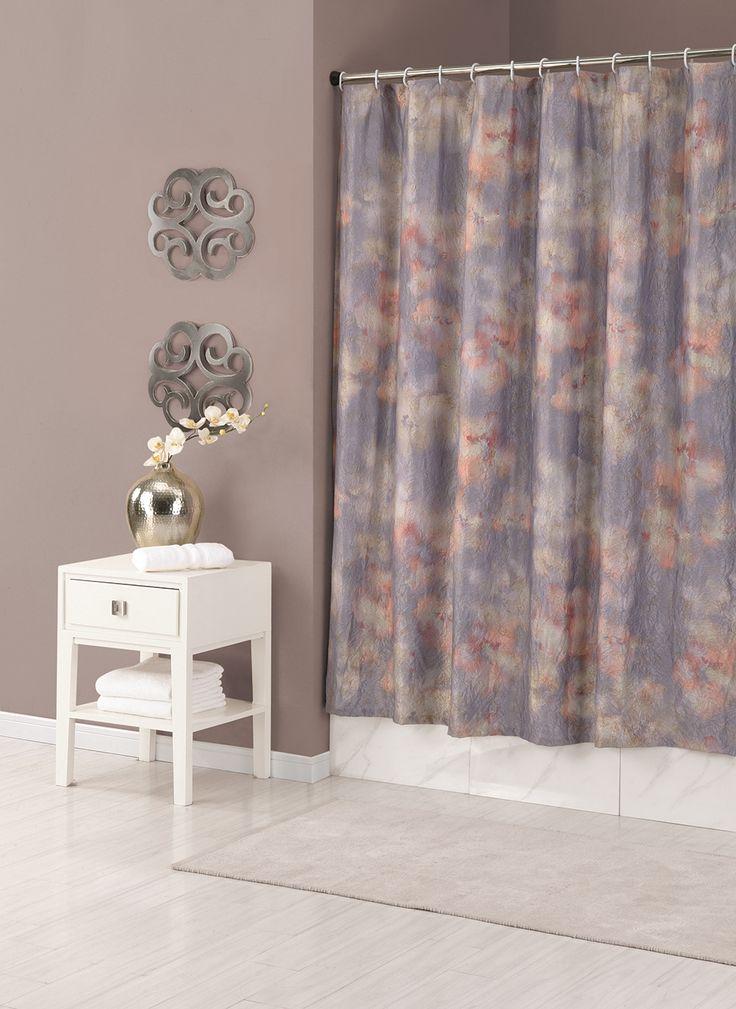 Mandala shower curtain. Jessica Simpson Bath Collection. #aprilshowers