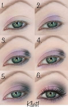 Make-Up for green eyes