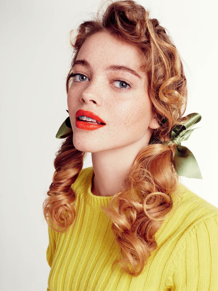 crfashionbook:The braces are back! Inside CR 6, our cover girl Kitty Hayes becomes Marilyn Monroe