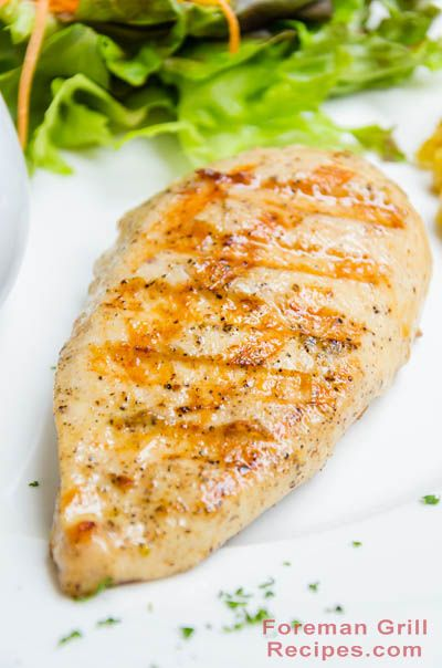 Foreman breast george grill chicken