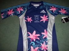 2007 2008 Stade Francais BNWT Rugby Union Shirt Adults Small Paris France
