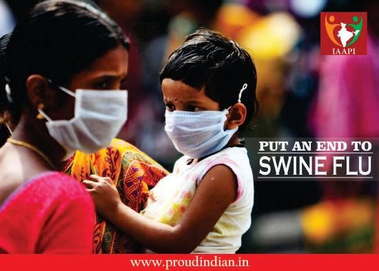 After dengue, swine flu strikes the nation. How many people do we plan to lose because of being unclean? Put an end to swine flu before it gulps the majority. #dengue #swineflu #cleanliness #proudindia #ngo