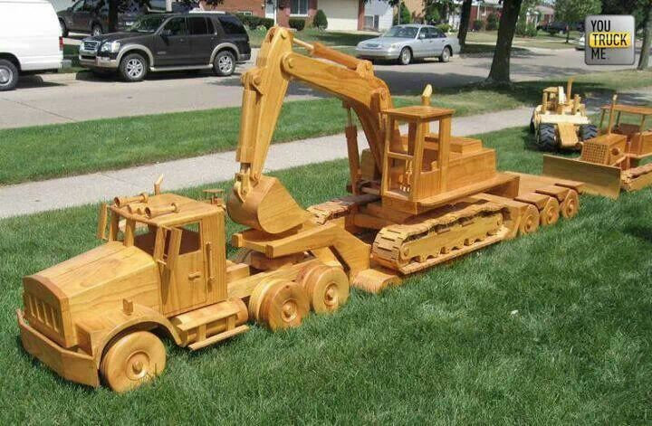 Free Wooden Toy Semi Truck Plans - WoodWorking Projects & Plans
