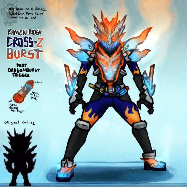 Tom Salmon Cross Zburst Kamen Rider Decade Kamen Rider Ooo Rider