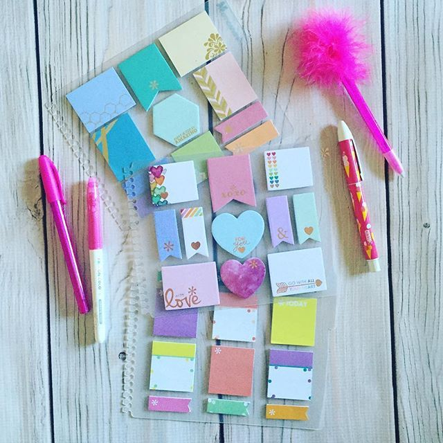 Slightly obsessed with @erincondren sticky notes!