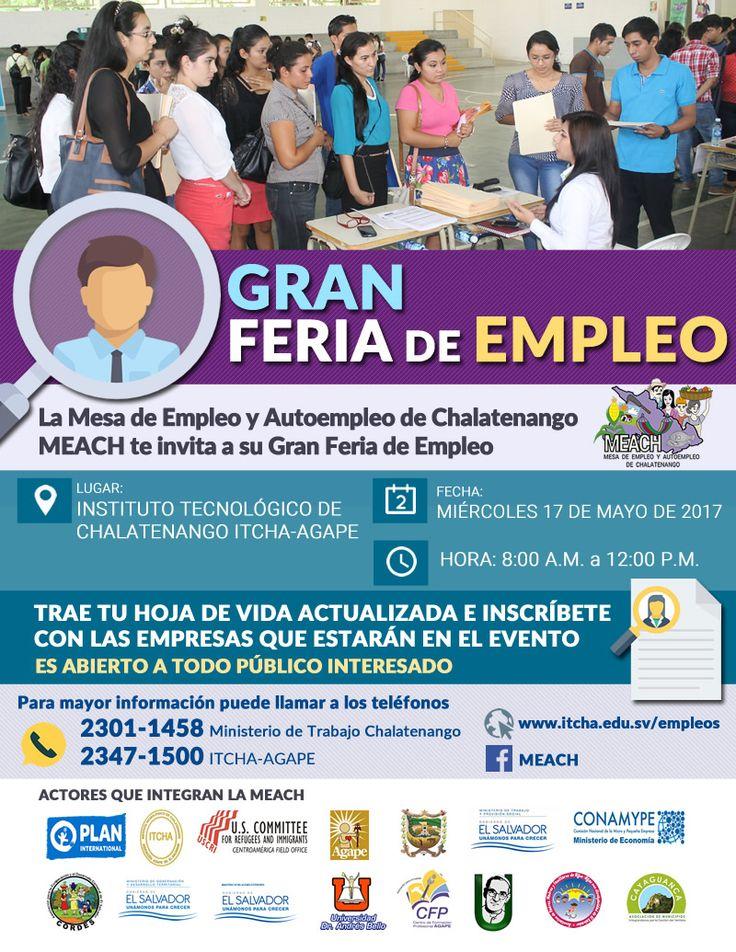 Feria de Empleo en ITCHA-AGAPE, mayo 2017