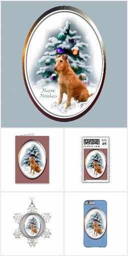 Irish Terrier Christmas Gifts