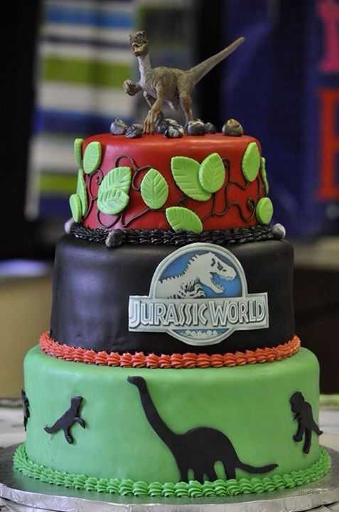 deco gateau jurassic world
