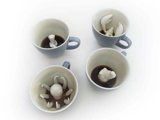 Creature Cups | Hidden creatures in your cup.