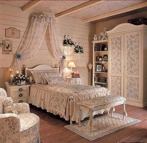 Спальня в стиле Прованс, дизайн интерьера, фото, видео   Все о дизайне и ремонте дома