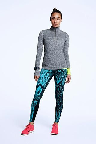 Nike Running Look - Featuring Nike Epic Lux Printed Tight