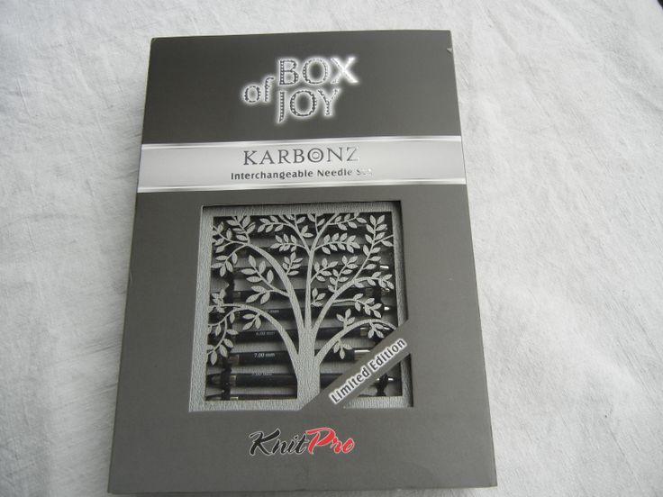 Box of Joy - KnitPro Karbonz Nadelspitzenset - Limitierte Auflage für Weihnachten.