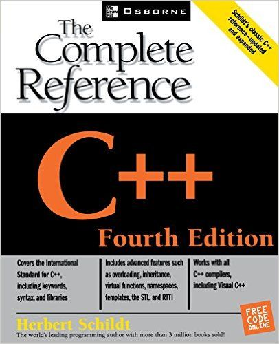 Amazon.com: C++: The Complete Reference, 4th Edition (9780072226805): Herbert Schildt: Books