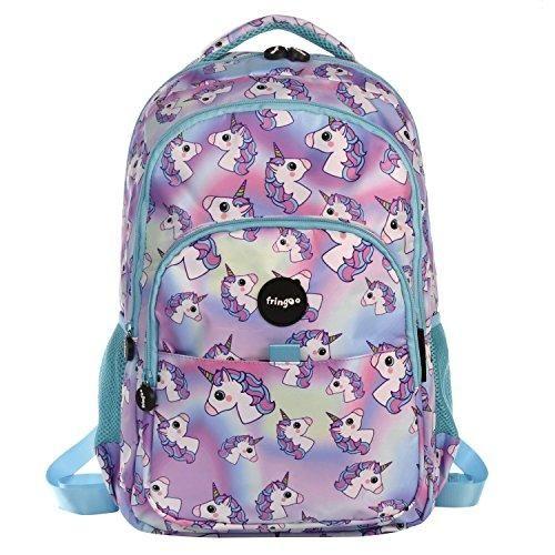 eec5ba6daa3f FRINGOO® Girls Boys Multi-compartment waterproof school bag   backpack.  Perfect for children going back to school