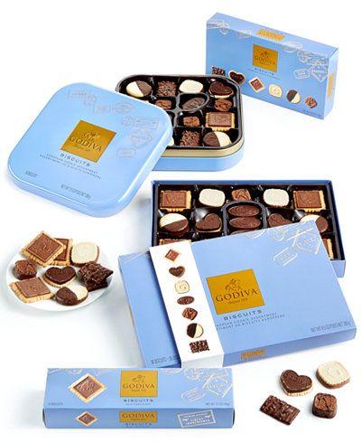 Godiva Chocolatier Gourmet Biscuit Collection
