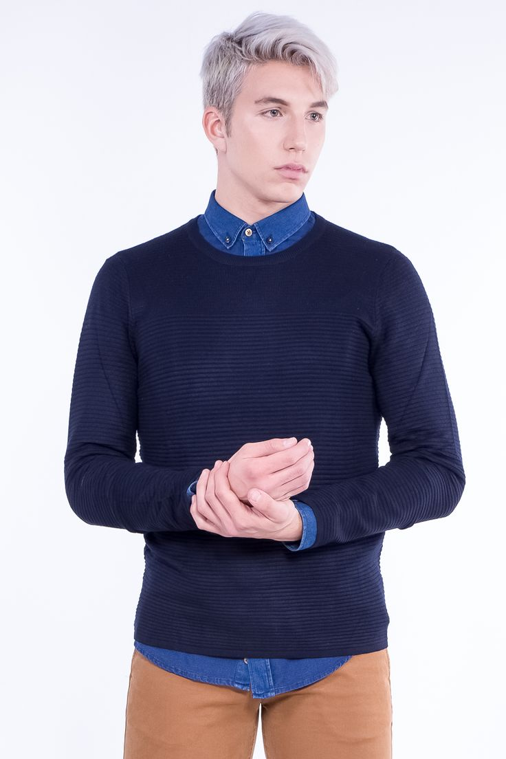 Light-Weight Jumper In Stripes