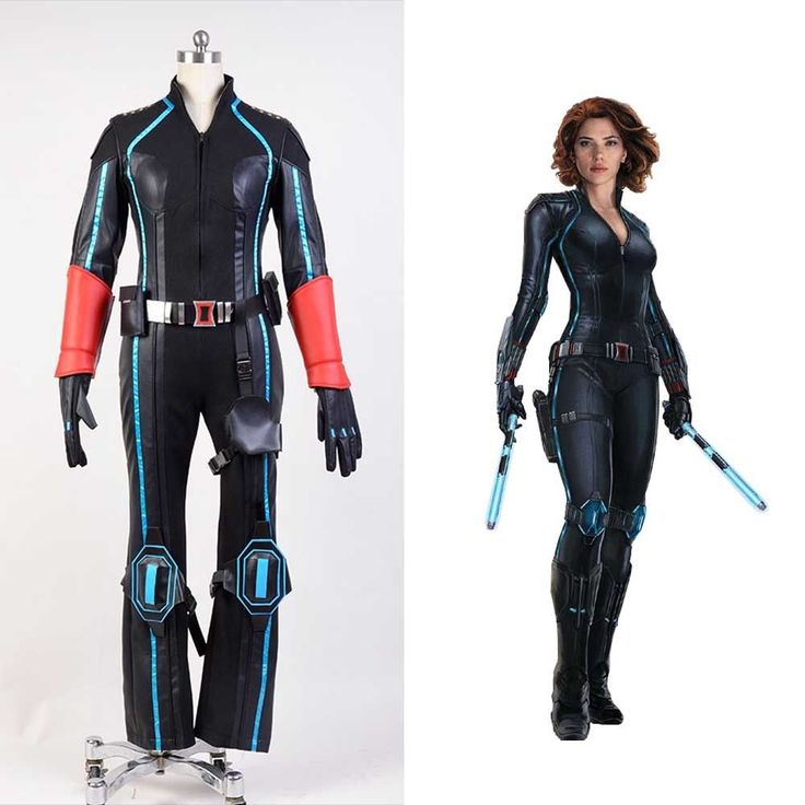 SHIELD The Avengers Age of Ultron Black Widow Natasha Cosplay Costume Adult  Suit | eBay