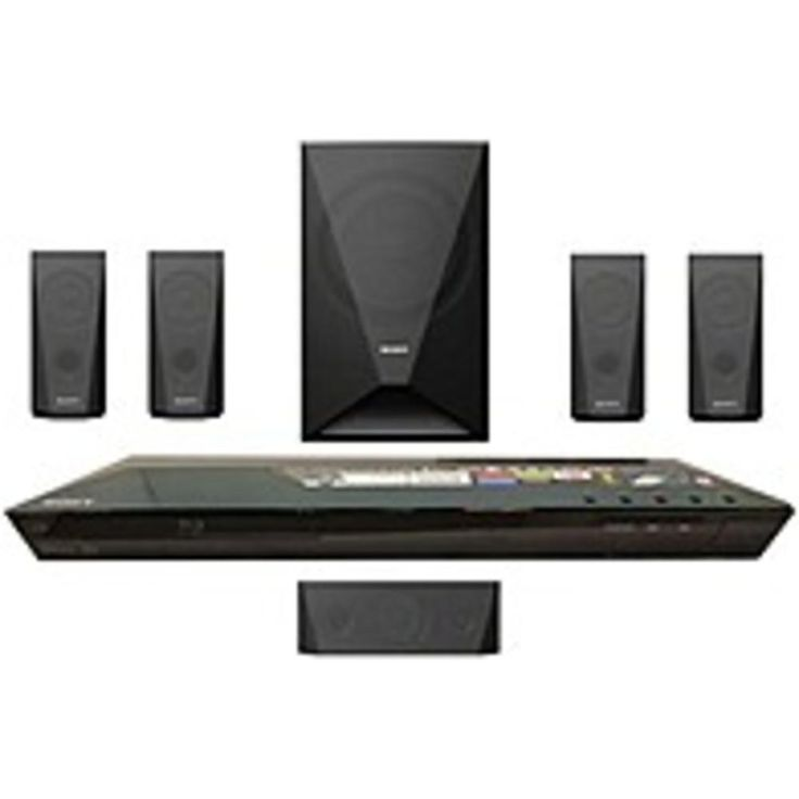 NOB Sony BDV-E3100 3D Blu-ray Home Theater System with Wi-Fi - 5.1 Channel - 1000 Watts