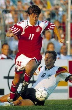 Brian Laudrup (Denmark, 1987–1998, 82 caps, 21 goals)