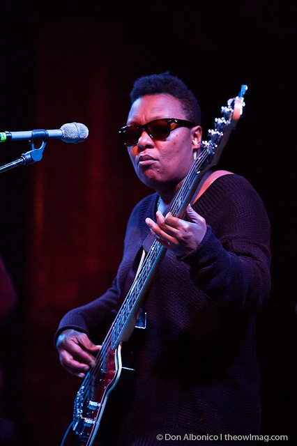Meshell Ndegeocello @ Great American Music Hall, SF 1/7/12 by The Owl Mag, via Flickr ( 7th Jan 2012)