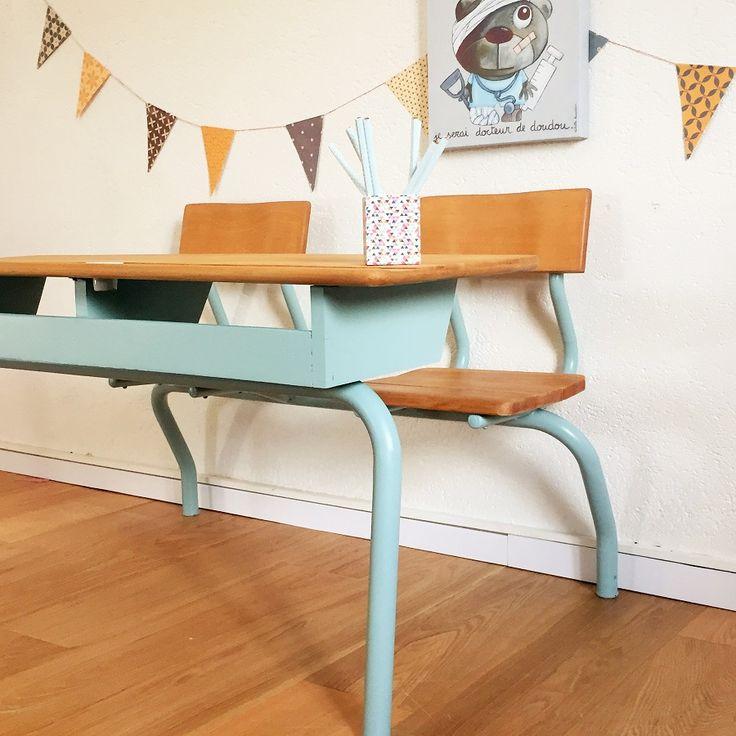 Les 10 meilleures images du tableau bureau colier sur pinterest relooking meuble bureau - Repeindre un bureau ...