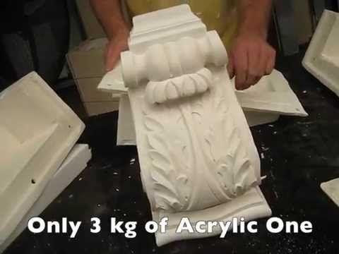 Acrylic One Rotation - YouTube