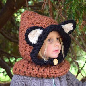 Chunky Fox Cowl