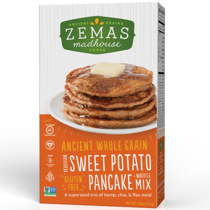 Sweet potato pie meets fluffy pancakes in this drool-worthy omega-3 ...