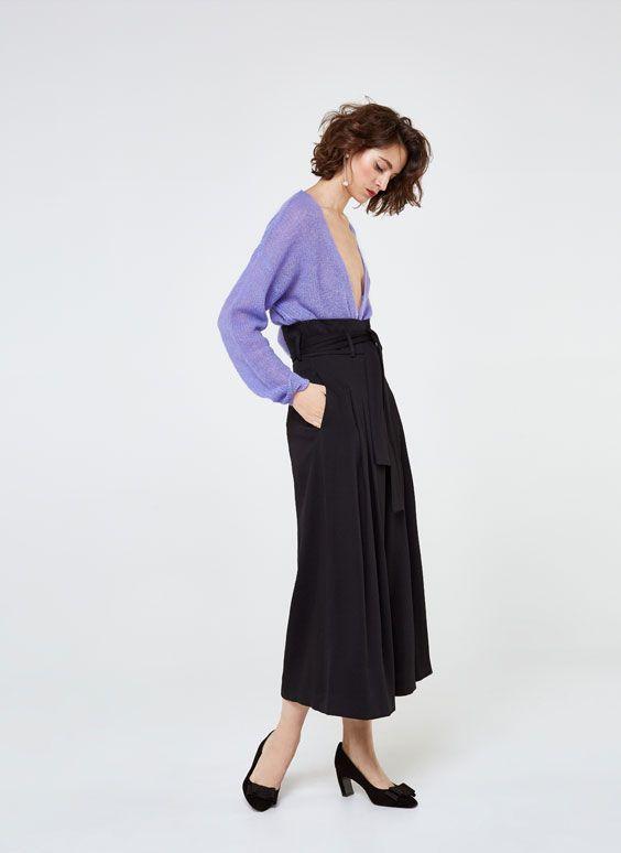 Uterqüe España Product Page - Nueva colección - Colección - Ver todo - Falda pantalón - 99