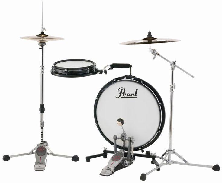 【NAMM2017:ドラムセット】驚きのコンパクトさ! Pearl (パール) が新しい形の小型キット COMPACT TRAVELER を発表!  -MyDRUMS(マイドラムス)