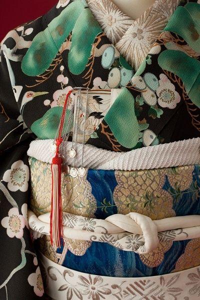 détail de kimono