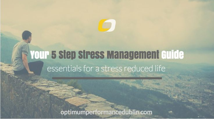 Stress management for performance