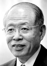 "Ryoji Noyori----------- The Nobel Prize in Chemistry 2001 was divided, one half jointly to William S. Knowles and Ryoji Noyori ""for their work on chirally catalysed hydrogenation reactions"" and the other half to K. Barry Sharpless ""for his work on chirally catalysed oxidation reactions""."
