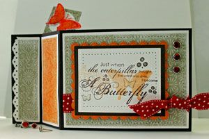 Wiper Card Tutorial: Make a Card with a Surprise Pop Up Image by Beate Johns