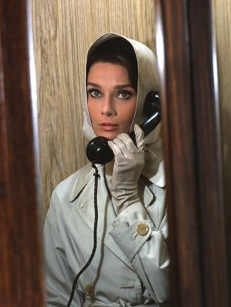 """1963 - Place 2 - Audrey Hepburn in """"Charade"""""""
