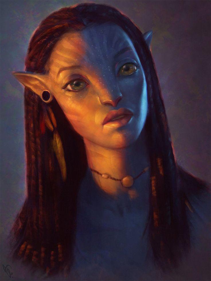 Avatar Fan Art 3 Day #269 by AngelGanev