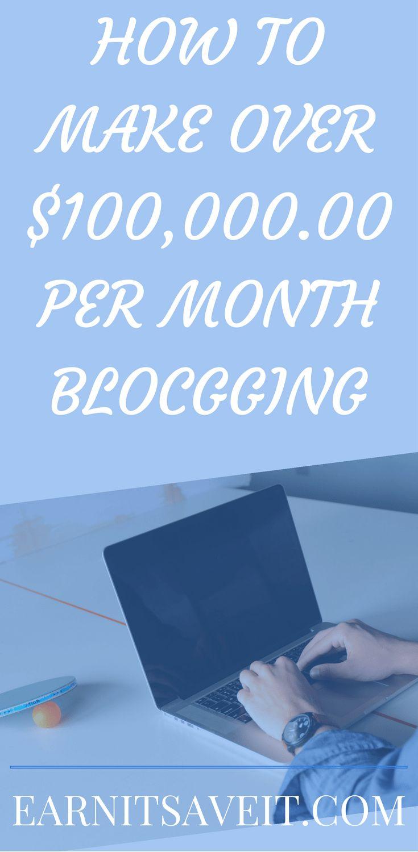 Make Money Online Blogging | Work at Home for Extra Cash |  Affilliate Programs